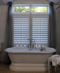 bathroom window treatments - Bathroom Window Treatments